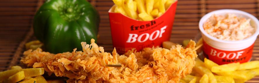 قیمت غذای بوف